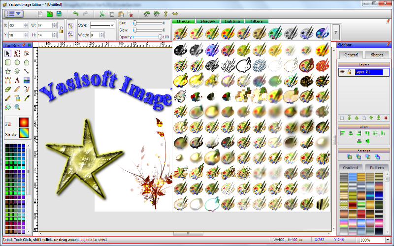 Yasisoft Image Editor is an easy-to-use photo editor and graphics design software. You